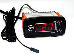 Контроллер (цифровой регулятор температуры) СТЕ-102 для погреба, омшаника