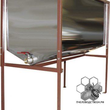Стол нержавеющий для распечатки и хранения подготовленных для качки мёда рамок,на 24 рамки