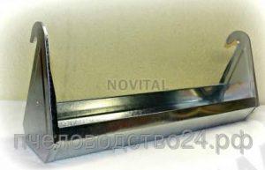 Поилка подвесная на клетку из оцинкованного металла 30 см.