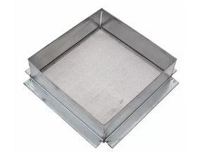 Фильтр для меда квадратный на куботейнер оцинкованный