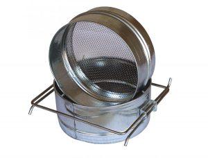 Фильтр для меда малый ровный диаметр 200 мм из нержавейки