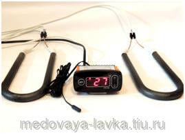 Измеритель-регулятор температуры СТЕ-102 с тепловентилятором и двумя ТЭн 500 Вт (2х250)
