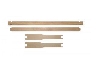 Рамка еловая ЕВРО Лангстрот - Рута435x230 мм с прорезью для вощины.
