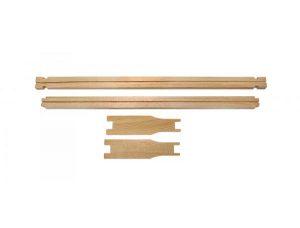 Рамка еловая ЕВРО-Магазин 435x145 мм с прорезью для вощины.5