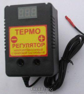 Терморегулятор цифровой для омшаника, инкубатора, погреба