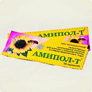 Амипол-Т (акарицидные полоски-10 шт)