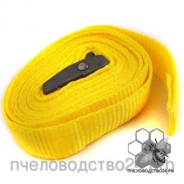 Скреп ременной для стяжки улья с механизмом для стяжки и фиксации ремня 3,8 м