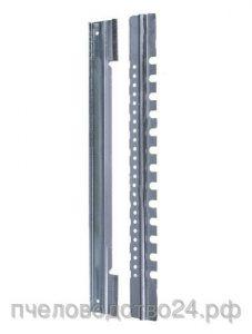 Летковый заградитель 2-х элементный нижний оцинкованный c отверстиями