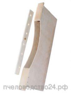 Кормушка внутриульевая деревянная, 2 литра