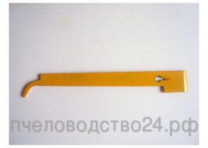 Стамеска - гвоздодер - козья ножка крашенная 280х35х3 мм