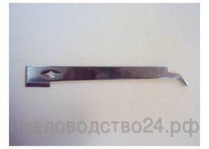 Стамеска - гвоздодер - козья ножка - мачета 285х35х4 мм с двумя острыми гранями