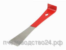 Стамеска - гвоздодер шлифованная 260х43х3 мм без ручки окрашена на 2/3