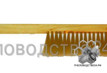 Щетка - сметка с однорядным искусственным мягким ворсом