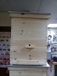 Пчелиный Улей, 12-ти рамочный Дадан разборный с двумя магазинами и оббитой крышкой