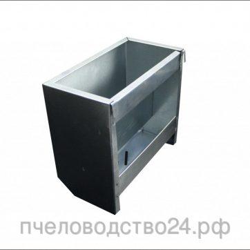 Бункерная кормушка из оцинковки, 3 кг