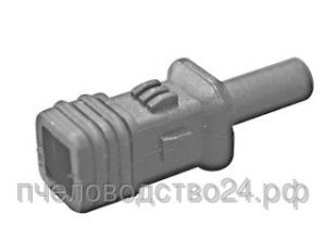Соединитель для квадратной трубы, 10 мм