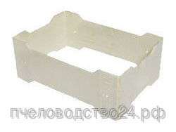 Рамка деревянная для секционного мёда, размер 67x115x38 (упаковка 50 штук).