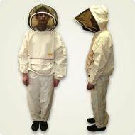Костюм пчеловода «Австралийский» льняной (лицевая сетка отстегивается при помощи молнии) размер 48