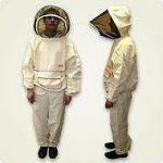 Костюм пчеловода «Австралийский» льняной (лицевая сетка отстегивается при помощи молнии) размер 62