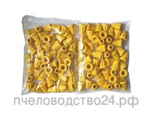 Держатель мисочек ребристый для джентерского сота - 100 штук в упаковке