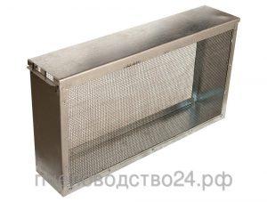 Изолятор для маток 2-х рамочный сетчатый оцинкованный «Дадан - Блатта»