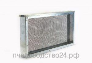 Изолятор для маток 3-х рамочный сетчатый оцинкованный «Дадан - Блатта»