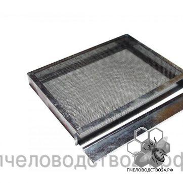 Изолятор для маток 1-но рамочный с сеткой из нержавейки оцинкованный «Рута»