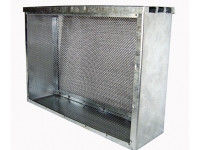 Изолятор сетчатый оцинкованный 3-х рамочный Дадан (сетка н/ж)