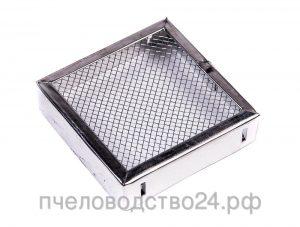 Колпачок для матки квадратный 90 мм оцинкованный