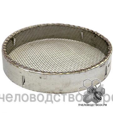 Колпачок для пчелиной матки круглый оцинкованный диаметр 120 мм