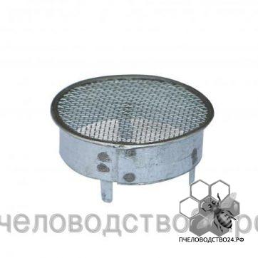 Колпачок для матки круглый с тремя фиксаторами дм 95 мм, оцинкованный