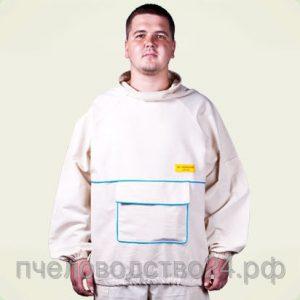 Куртка пчеловода льняная размер 54
