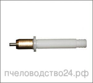 Поилка ПКН-7 для кроликов с резьбой и гайкой