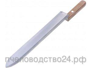 Нож пасечный c односторонней нижней заточкой «Европа» 280 мм