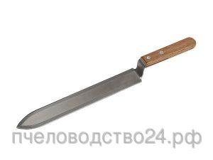 Нож пасечный 235 мм c односторонней верхней заточкой
