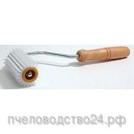 Каток для распечатки сот и меда «Ежик с иглой из пластика