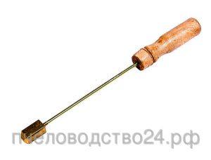 Каток (шпатель) для чистки проволоки