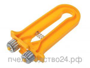 Приспособление для натяжки проволоки на рамки с ручкой из пластика «Волна»
