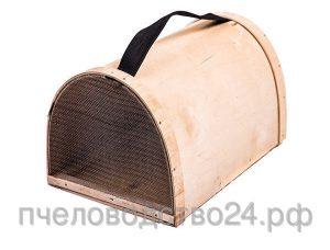 Роевня для пчел полукруглая удлиненная с металлической сеткой