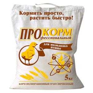 Корма и премиксы для сельскохозяйственных птиц и животных