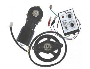 Электропривод к медогонке с мотор - редуктором и блоком управления на 12 Вольт