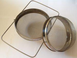 Фильтр для меда d 200 двухсекционный оцинкованный