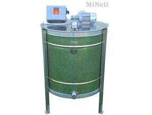 Медогонка электрическая кассетная 4-х рамочная из нержавейки автомат 12 220 Вольт