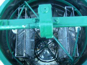 Медогонка с поворотом кассет 2-х рамочная оцинкованная