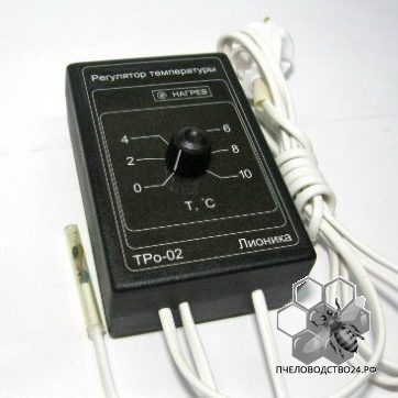 Мощный терморегулятор ТРо-02.М для помещений, омшаников, теплиц.,