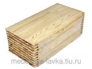 Рамка для ульев еловая «Лангстрот - Рута» 435х230 мм упаковка 100 шт