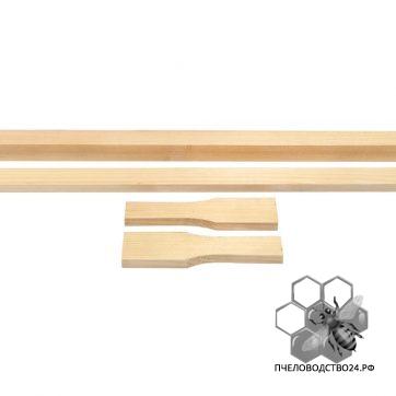 Рамка для ульев сосновая «Магазин» 435х145 мм упаковка 100 шт1