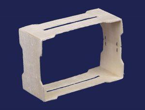 Рамка под вощину для секционного мёда 67х115х38 в упаковке 50 штук