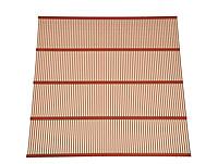Решетка ганемановская на 10 рамочный улей оцинкованная 375х473 ребер жесткости 7