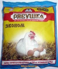 Рябушка Премикс концентрат (Эконом) для кур и домашней птицы, 10кг